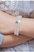 Imani bracelet - water Thumbnail View 4