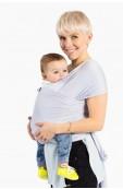 Human + Mother Baby Wrap - Peace, Love & Platinum Thumbnail View 3