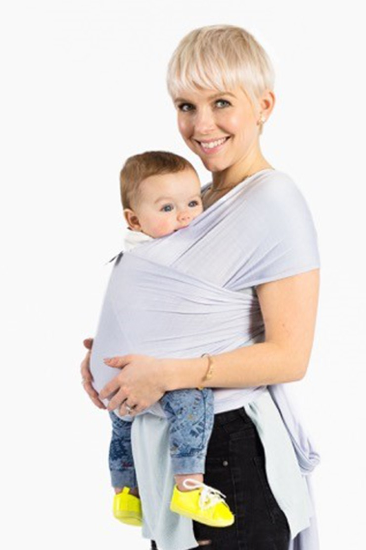 Human + Mother Baby Wrap - Peace, Love & PlatinumView 2