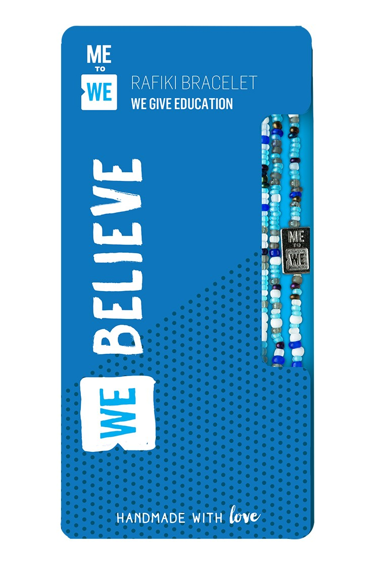 Make an Impact Rafiki bracelet - WE believe