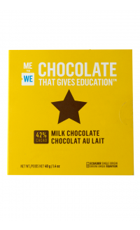 ME to WE Chocolate That Gives Education™ – Milk Chocolate