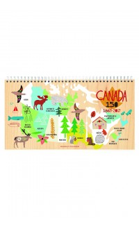 Ecojot – weekly planner (Canada 150)