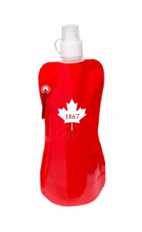 WE are Canada roll-up water bottle