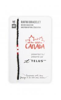 TELUS WE are Canada mini Rafiki bracelet