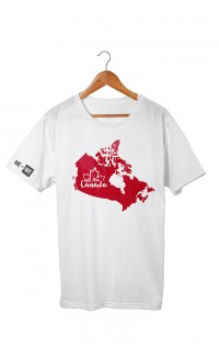 WE are Canada map T-shirt
