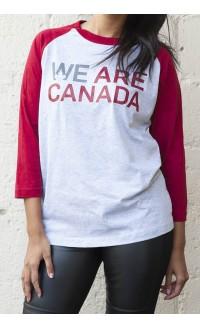 WE are Canada Baseball Tee