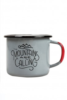 United By Blue - John Muir Enamel Steel Mug