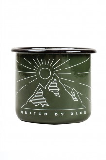 United by Blue - Wilderness Enamel Steel Mug