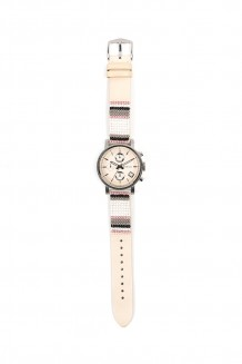 Fossil X ME to WE original boyfriend beaded leather watch