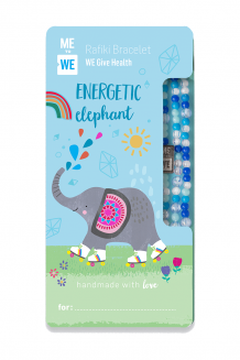 Cute critter Rafiki bracelet - energetic elephant (for ages 3+)