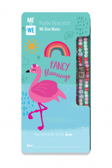 Cute critter Rafiki bracelet - fancy flamingo (for ages 3+)