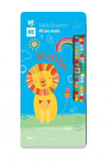 Cute critter Rafiki bracelet - lovely lion (for ages 3+)