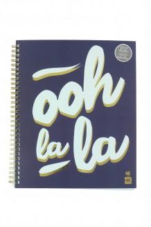 Coil Notebook - Blue - Ooh La La