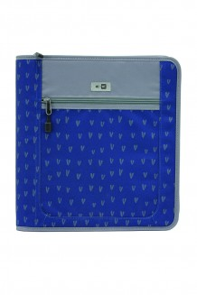 Zipper Binder - Navy