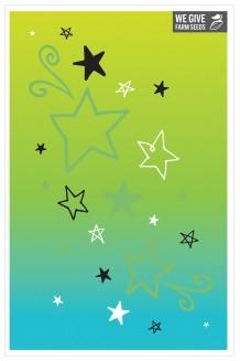 Blank - Green Stars