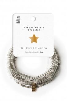 Hakuna Matata bracelet set - education