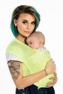 Human + Mother Baby Wrap - Neon Dreamin'