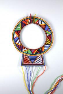 Malaika Wedding Necklace - Maasai - Multi