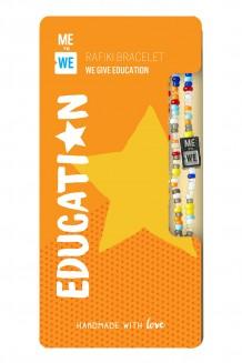 Make an Impact Rafiki bracelet - education