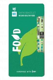 Make an Impact Rafiki bracelet - food