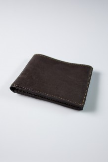 Leather Mara Fold Wallet