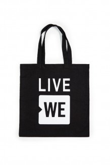 Live WE Tote - Black