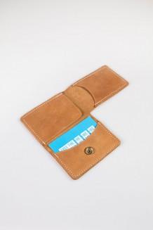 Mkoba Double-fold Wallet - Nubuck