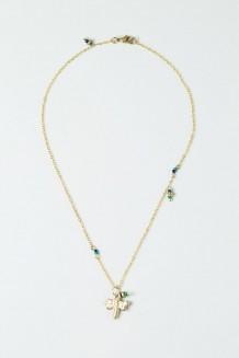 Colour Drop Charm Necklace – Dragonfly