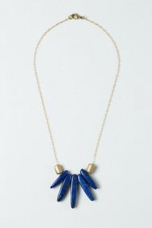 Lazuli Pendant Necklace - Lapis