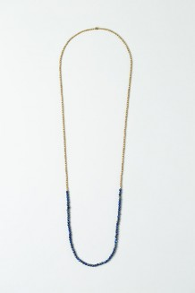Jiwe Strand Necklace - Lapis