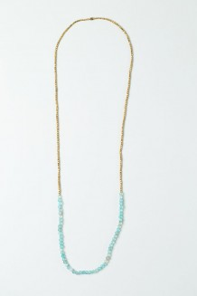 Jiwe Strand Necklace - Agate
