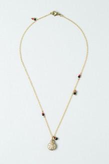 Colour Drop Charm Necklace – Ladybug