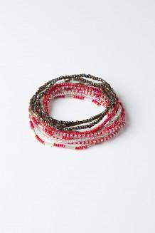 Hakuna Matata Bracelet Set - Raspberry - Red
