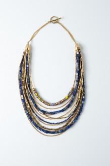 Jasiri Statement Necklace - Lapis Lazuli