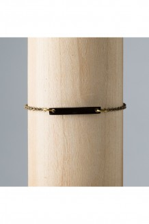 Savannah Bar Bracelet - Black