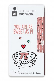 Sweet as Pi Rafiki Bracelet - Chemistry Series