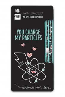Charge Particles Rafiki Bracelet - Chemistry Series