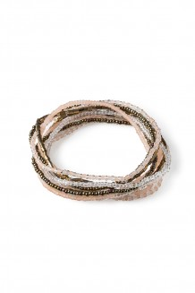 Hakuna Matata Bracelet Set - Blush