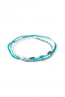 Triple bracelet set – teal