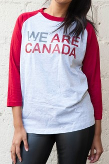 WE are Canada Baseball Tee