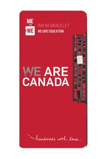 WE Are Canada Rafiki Bracelet
