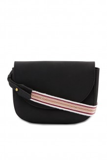 Cinta Cross Body Bag - Black - Black