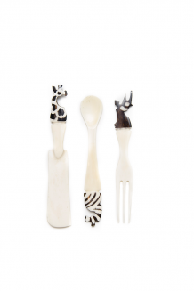 Bone Utensil Set - Assorted