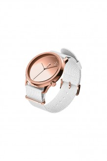 1:Face Watch – :M Rose Gold - Rose Gold on Grey