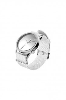 1:Face Watch – :M Silver   - Silver