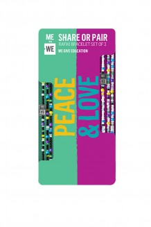 Share + Pair Rafikis: Peace and Love