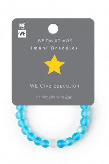 Imani Bracelet WE Day - Education #GenWE
