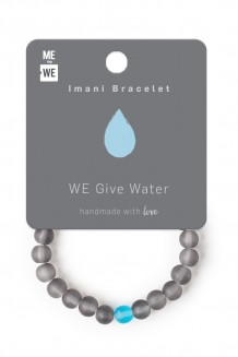 Imani Bracelet WE Day - Water #GenWE