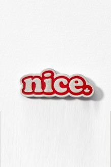 Roots x WE –  nice pin