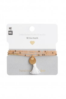 Brass paillette and tassel Rafiki - health